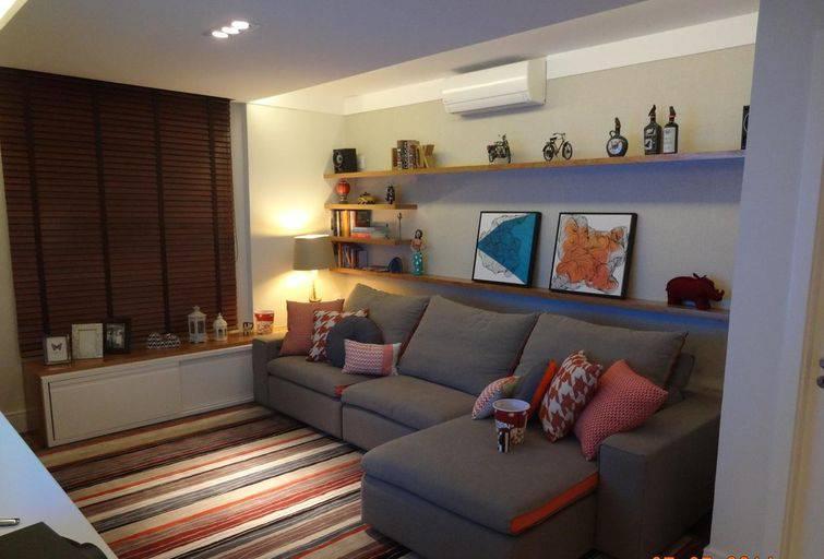 Salas pequenas decoradas para que o espaço pareça maior