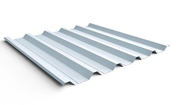 Telhas de zinco modelo trapezoidal
