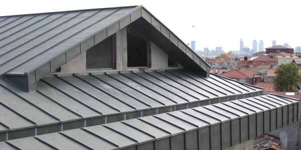 Telhas de zinco para casa