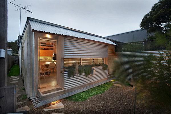 Telhas de zinco para residencia pequena