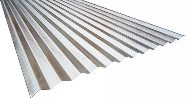 Telhas de zinco tradicional