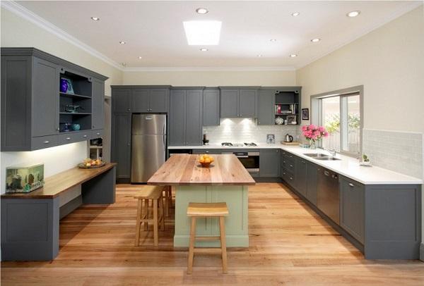 Teto de gesso na cozinha