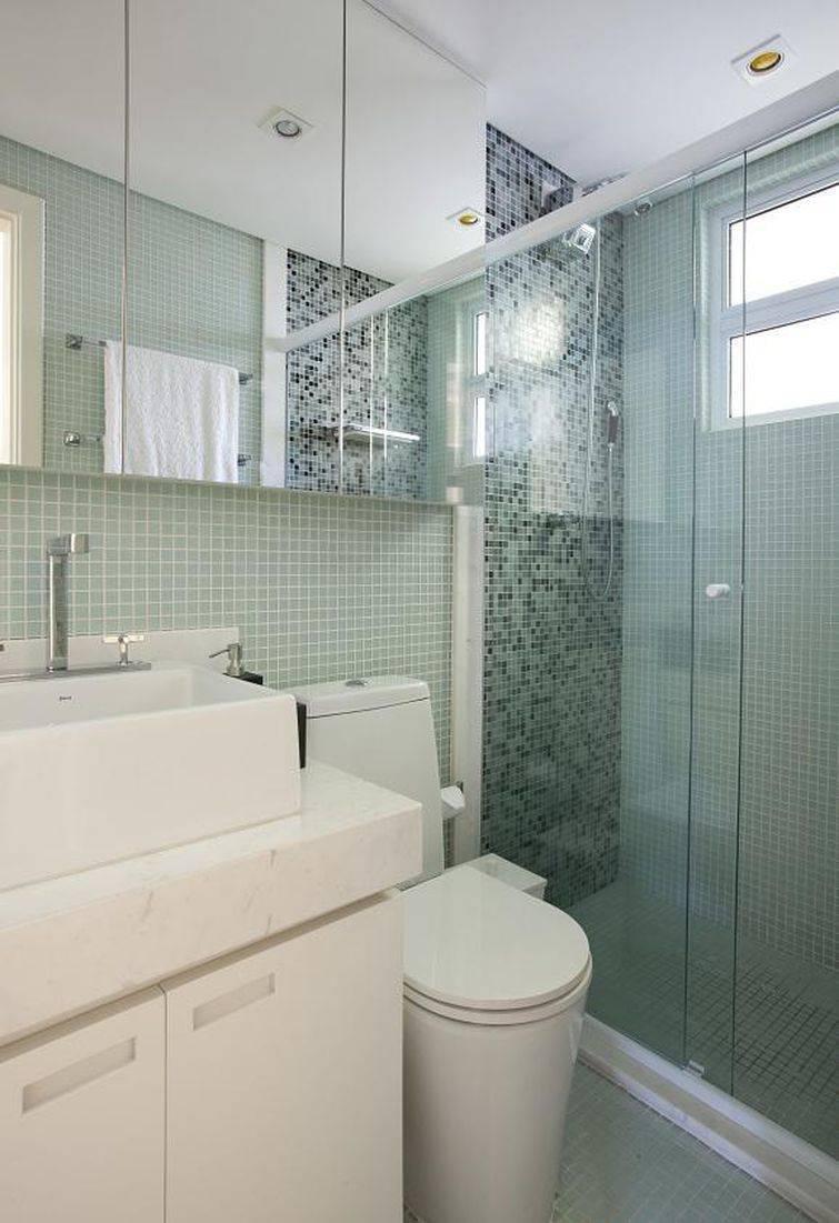 Decoração para apartamento pequeno, veja dicas especiais -> Decoracao De Banheiro De Apto Pequeno