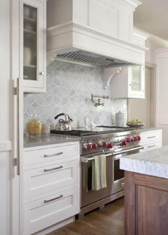 azulejo para cozinha discreto