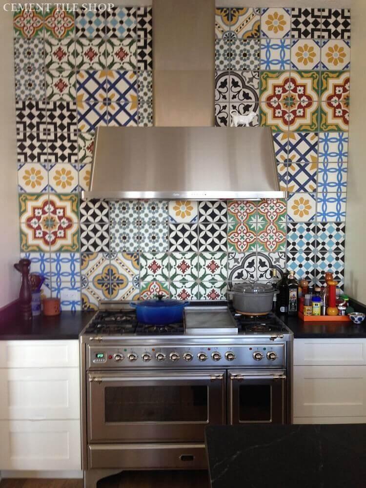 azulejos decorativos para cozinha