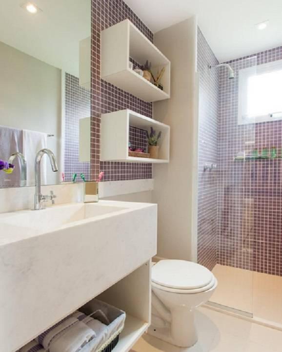 banheiros com pastilha