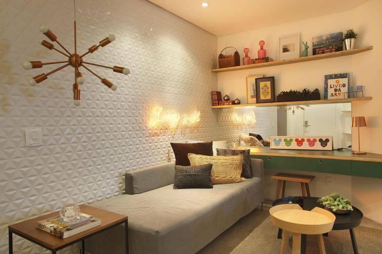 Como organizar um quarto pequeno com sofisticação