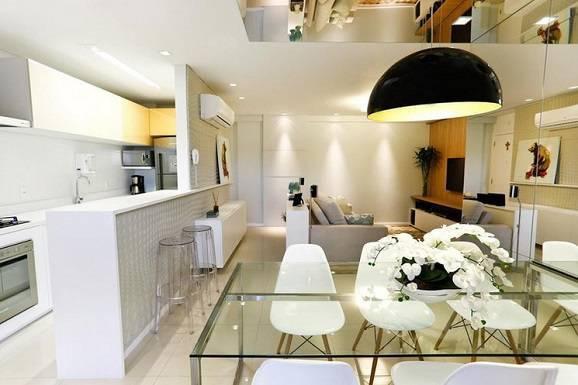 decoracao de apartamentos pequenos alugados : decoracao de apartamentos pequenos alugados:decoração para apartamento pequeno deixa o ambiente clean.