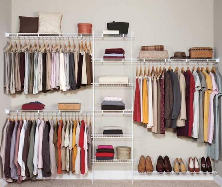 Como organizar um guarda-roupa pequeno