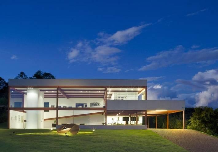 Modelos de casas modernas para inspirar voc for Modelos de casas medianas