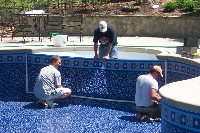Como construir uma piscina de vinil