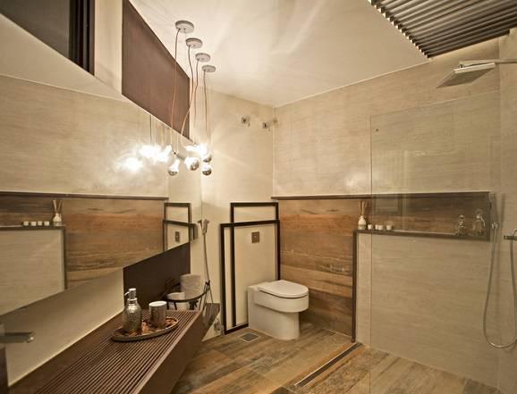 piso imitando madeira