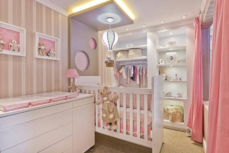 Quarto de bebê feminino especial pra sua princesa ~ Quarto Planejado De Bebe