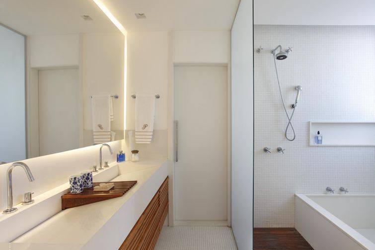 reforma de banheiro com banheira e pastilhas escala arquitetura 3085