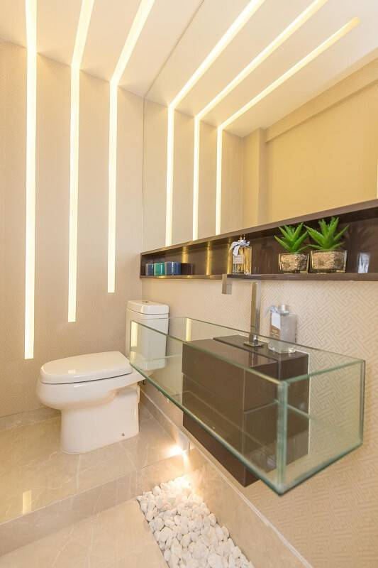 reforma de banheiro cuba de vidro andrea fonseca 146866