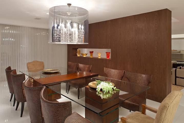 Sala De Estar E Jantar Conjugadas ~ Sala de estar e jantar integradas em projeto sofisticado