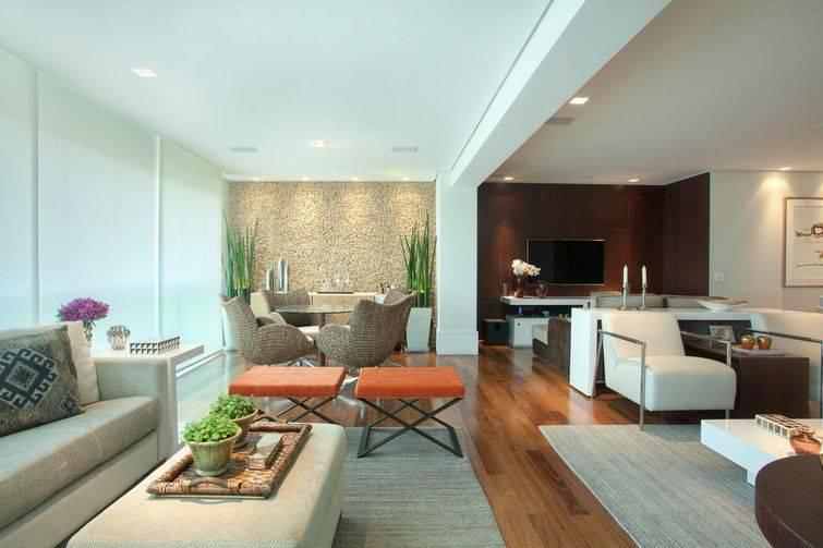 Texturas para parede na decoração da sua casa
