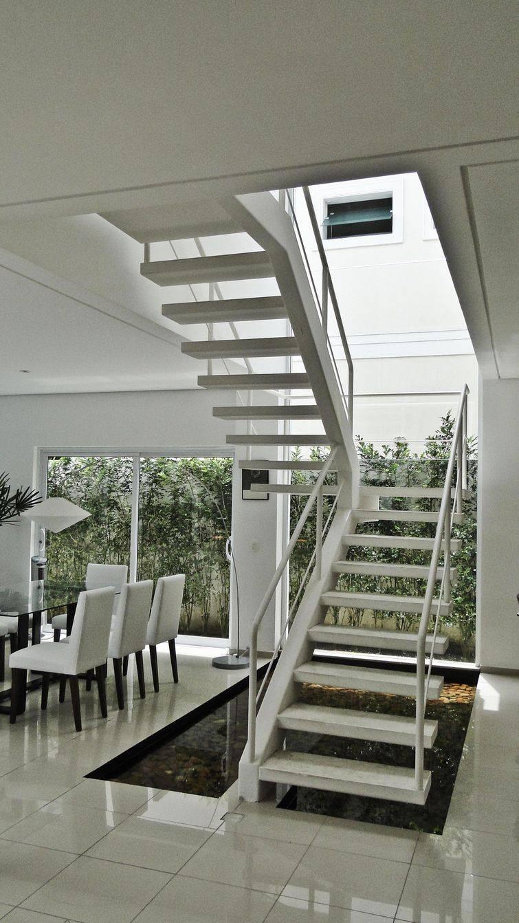 Tipos de escadas para usar na decora o de casa for Tipos de cielorrasos para casas
