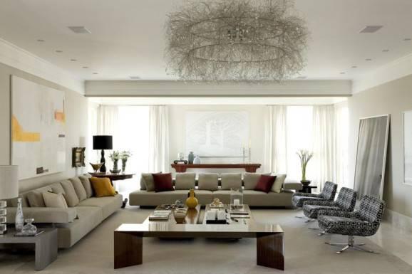 3939-sala-de-estar-apartamento-jardins-marilia-veiga Como decorar mesa de centro