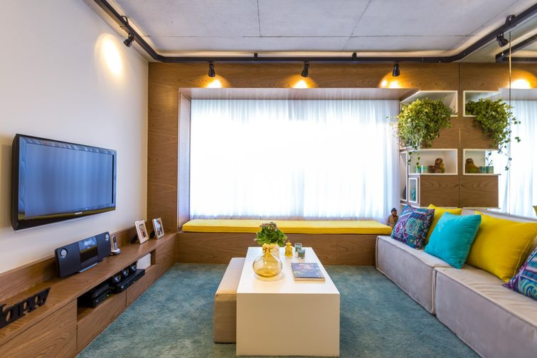 Como decorar sala de tv do jeito certo para a sua casa for Salas de television modernas