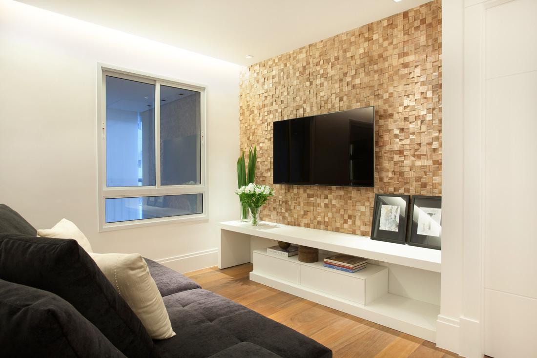 Uma Sala Pequena Decorada ~ Liliana Zenaro Como decorar uma sala pequena de apartamento