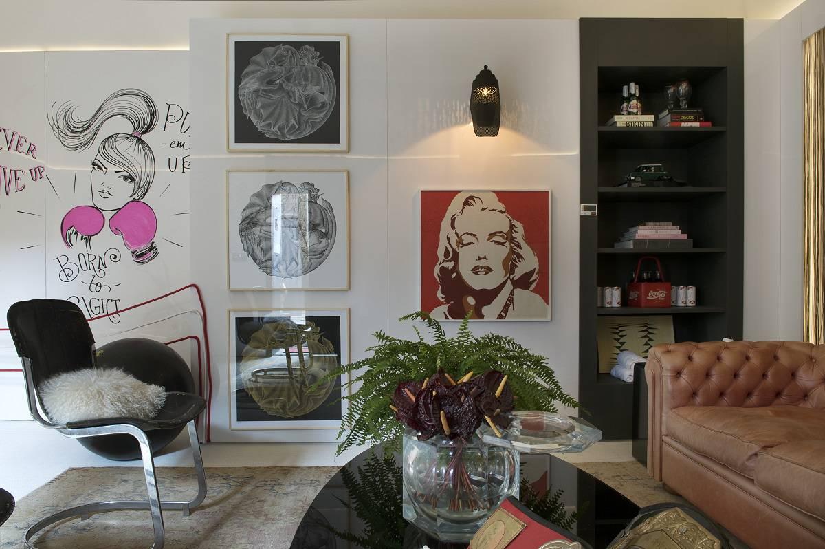 decorar parede Casa Cor 2015 - Fabiana Frattini - Ambiente da Boxeadora - Fotos Marcelo Magnani - Assessoria Oficina de Notícias  (21)