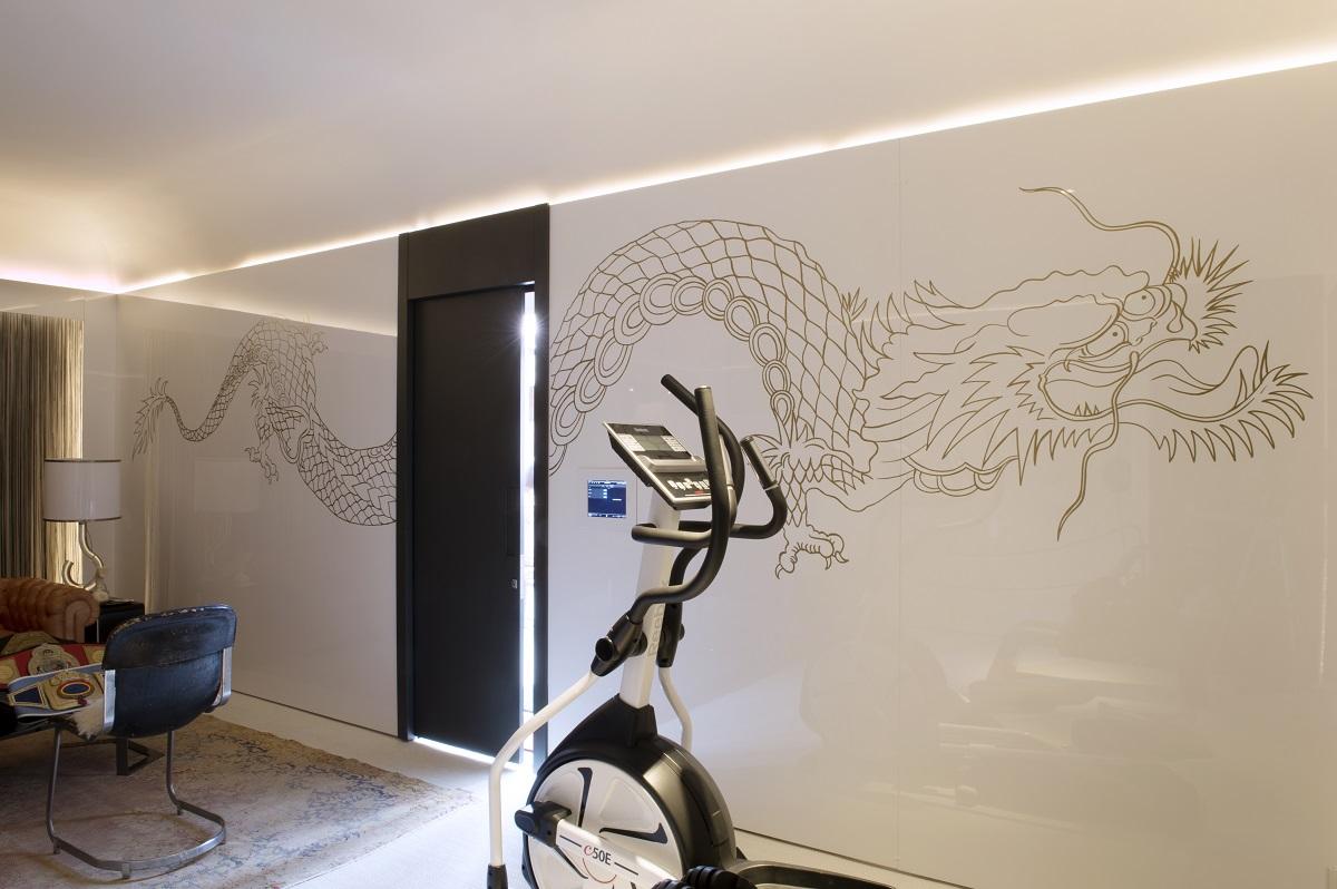 decorar parede Casa Cor 2015 - Fabiana Frattini - Ambiente da Boxeadora - Fotos Marcelo Magnani - Assessoria Oficina de Notícias  (27)