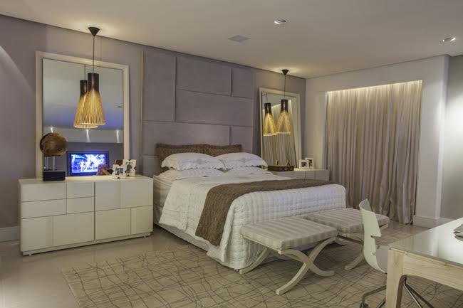 Como decorar o quarto do casal respeitando a individualidade de cada um