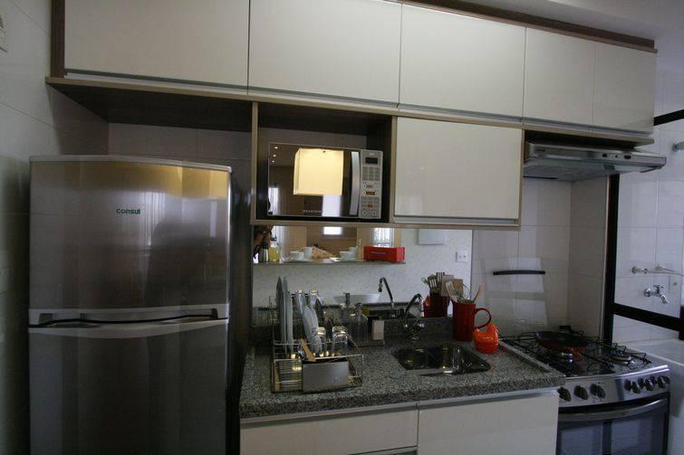 Cozinhas pequenas decoradas e planejadas 3