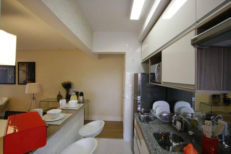 Cozinhas pequenas decoradas e planejadas 8