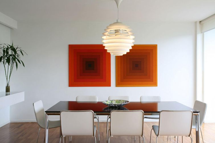 Lustre para sala de jantar, iluminação com elegância
