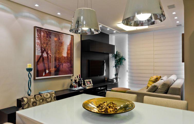 Como Usar Lustre Na Sala De Estar ~ Lustre para sala de jantar, iluminação com elegância
