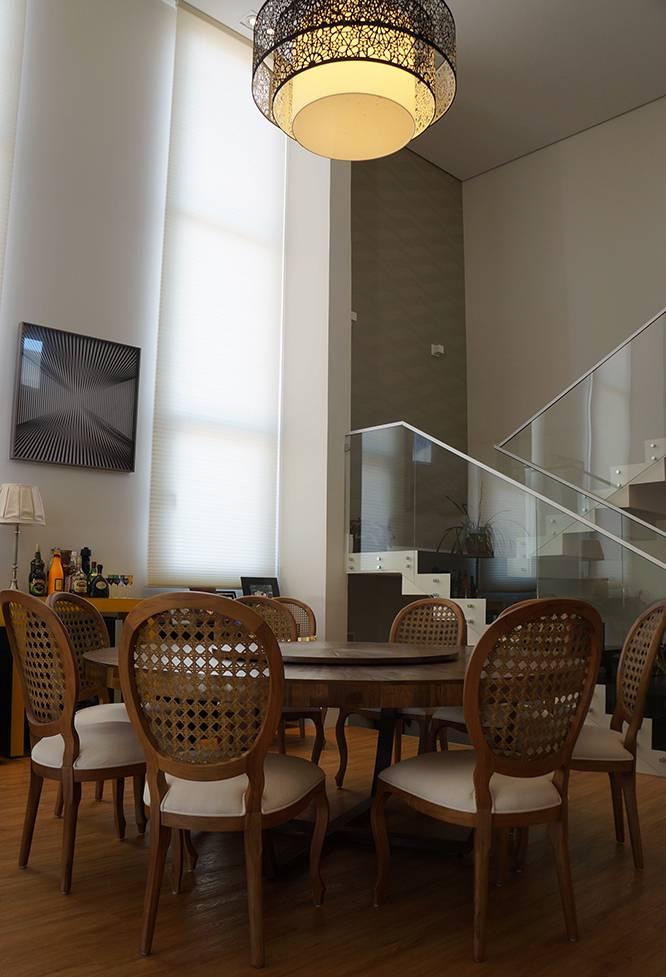 Papel de parede na sala de estar para ambientes cl ssicos - Papel decorado para paredes ...