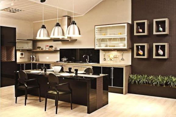 Armários de cozinha planejados inovam a decoração # Como Arrumar O Armario De Cozinha