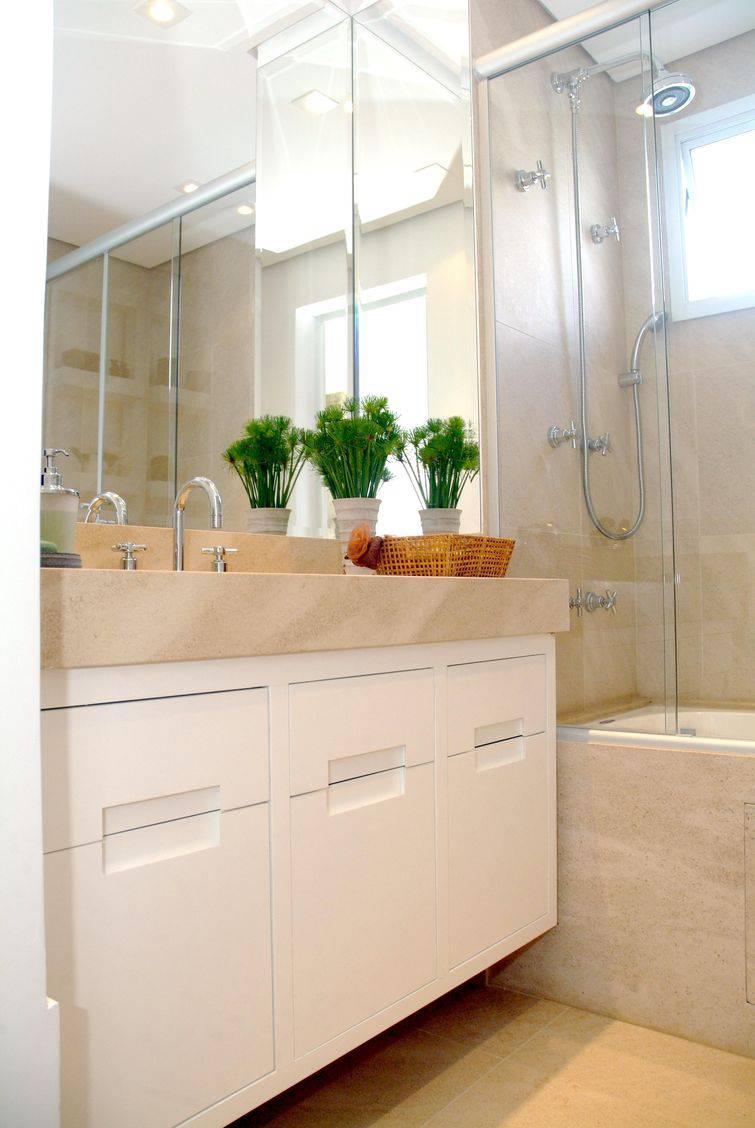 Decorar banheiro pequeno para aproveitar o espaço