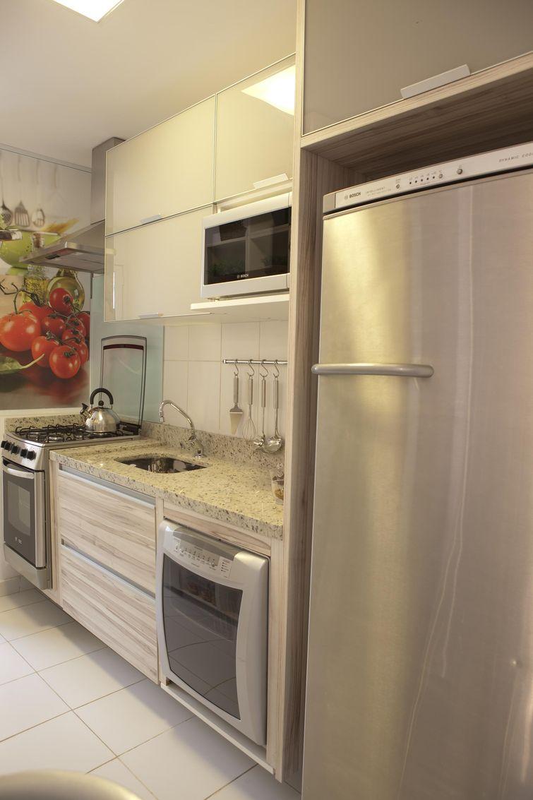 decorar uma cozinha:Como decorar uma cozinha pequena com funcionalidade