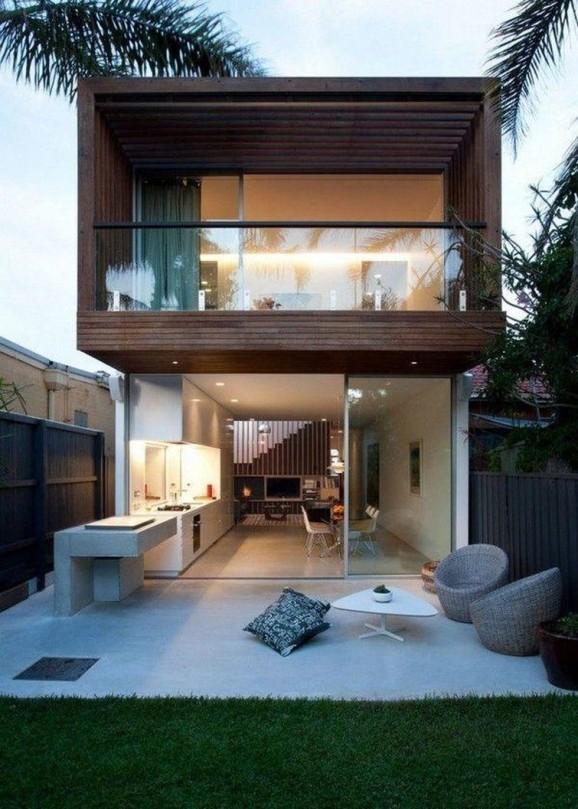 Fachada de casas pequenas e bonitas for Estilos de fachadas de casas pequenas