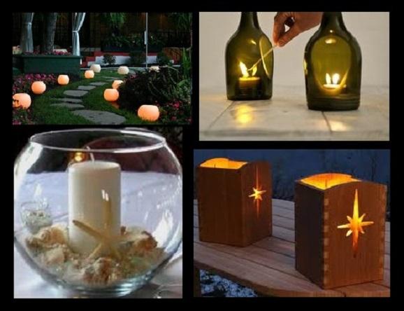 iluminação para festas