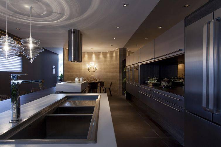 pia de cozinha dupla escura