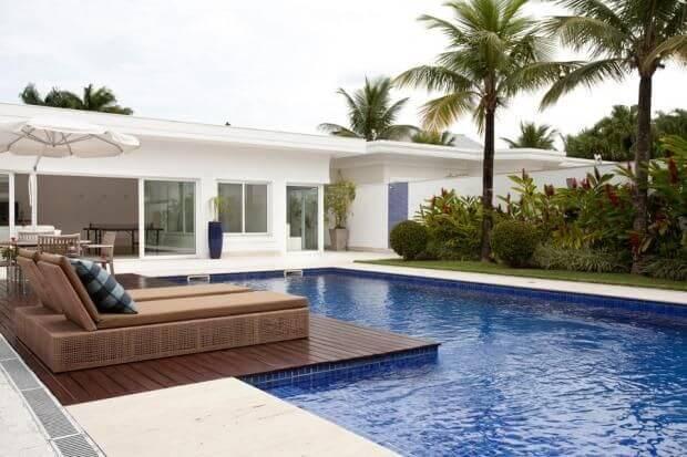 piscina de alvenaria com jardim silvana lara 27258