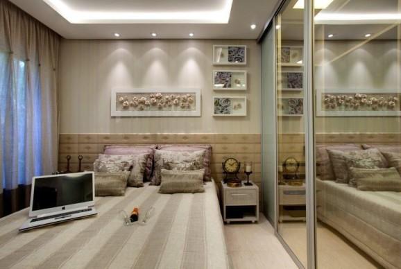 quartos de casal pequenos