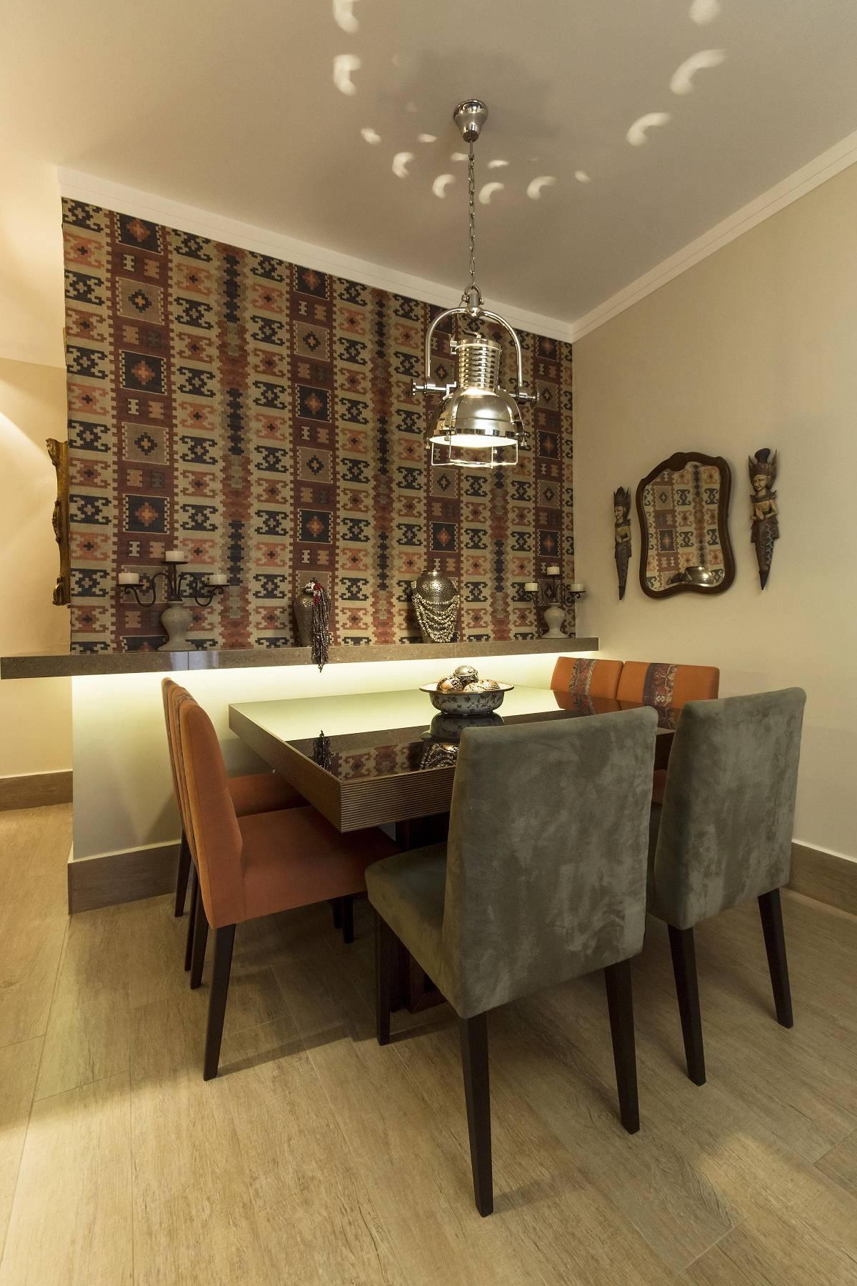 Papel De Parede Para Sala De Jantar Viva Decora -> Adesivos Decorativos Para Sala De Jantar