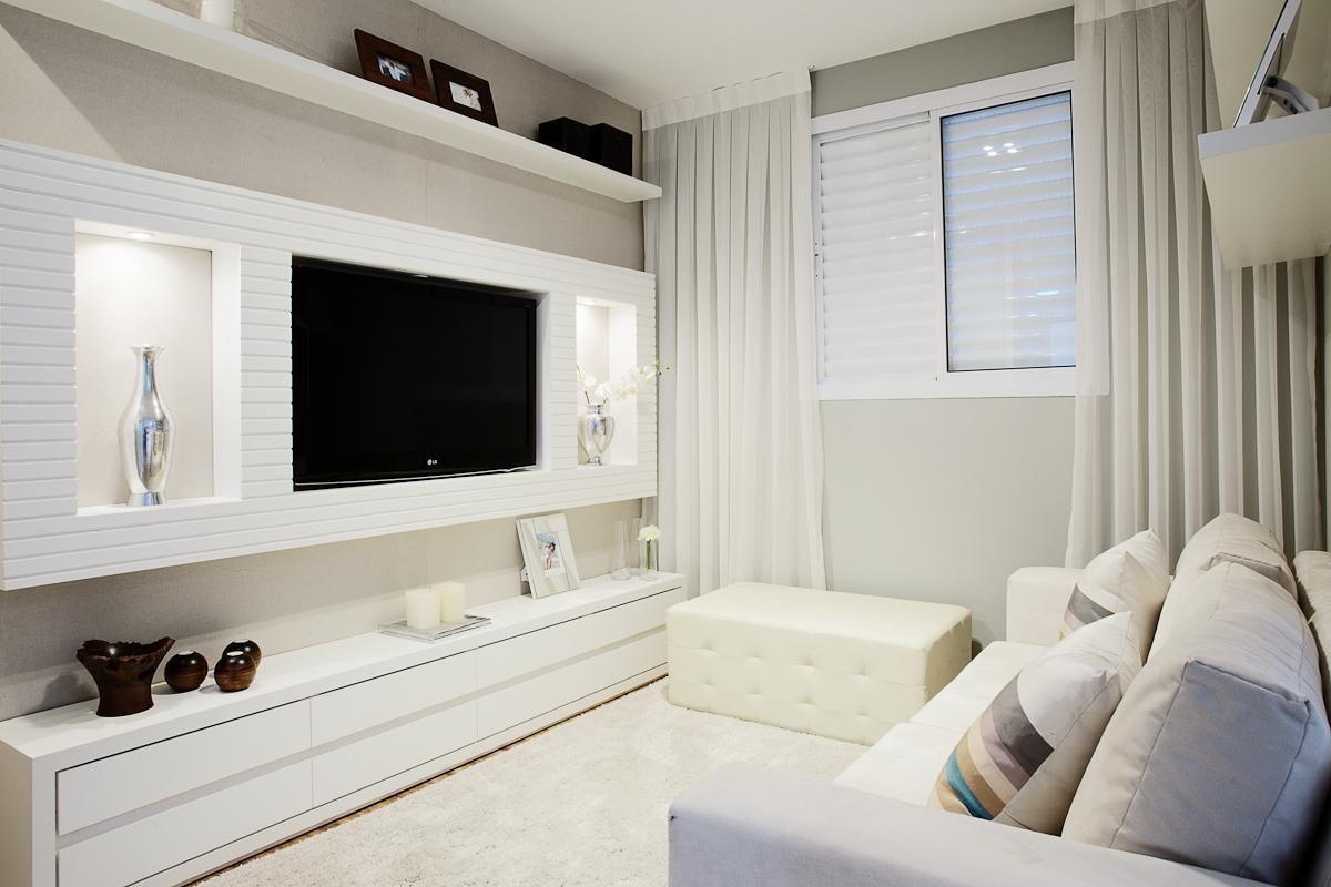 Decoracao De Sala Pequena Para Tv ~  muitas inspirações antes de começar a decoração de salas pequenas