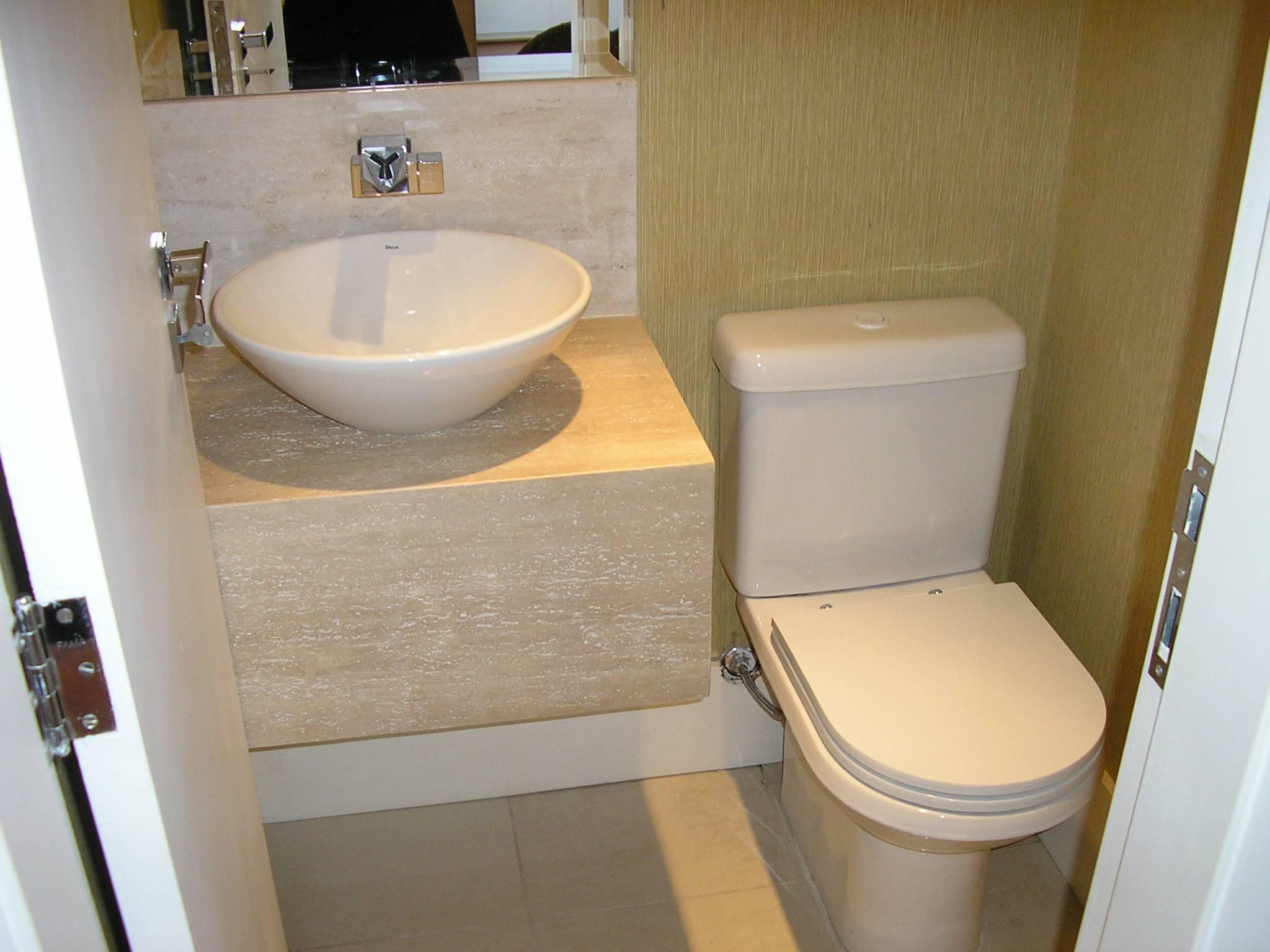 lavabo decoração de apartamento