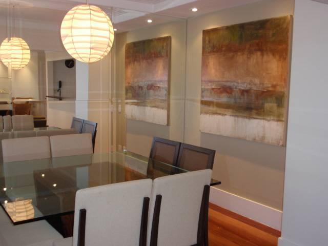 Decoração de apartamento sala de jantar