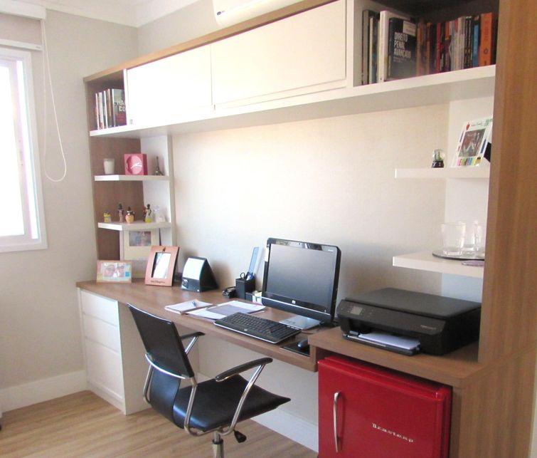 Cool Home Office Pequeno Veja Dicas De Decoracao Viva Decora Largest Home Design Picture Inspirations Pitcheantrous