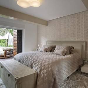 quartos de casal decorados com com bau