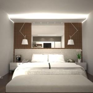 quartos de casal decorados com espelhos