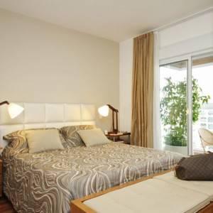 quartos de casal decorados com luminarias