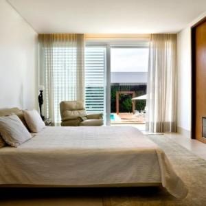 quartos de casal decorados com varanda